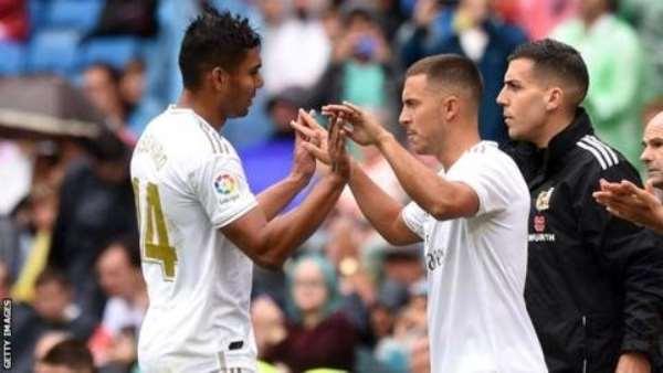 Eden Hazard Makes Debut In Real Madrid Win Over Levante