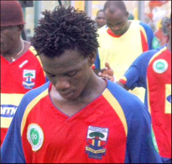 I Am Ready To Return To Active Football, Says Former Hearts Of Oak Midfielder Obed Ansah