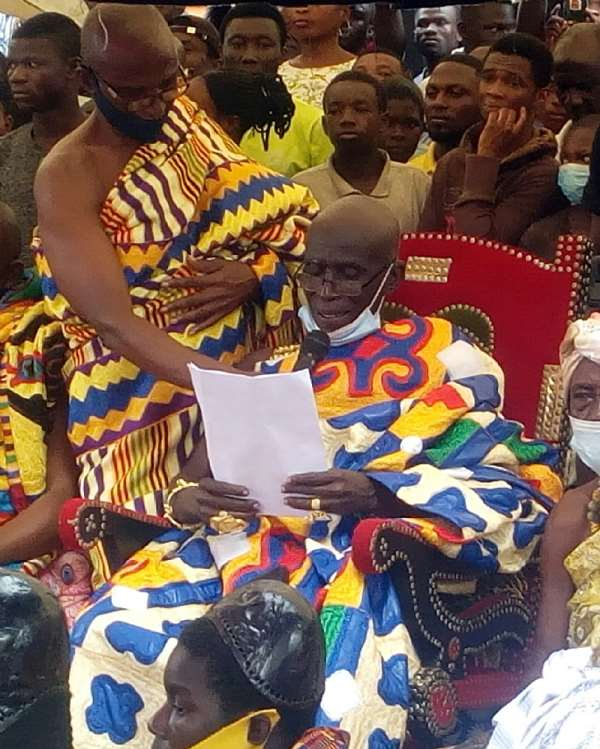 We Have Benefited From Good Policies Of Your Gov't—Ahafo Chiefs To Nana Addo