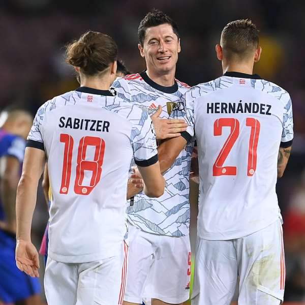 UCL: Lewandowski strike twice as Bayern Munich hammer Barcelona at Camp Nou