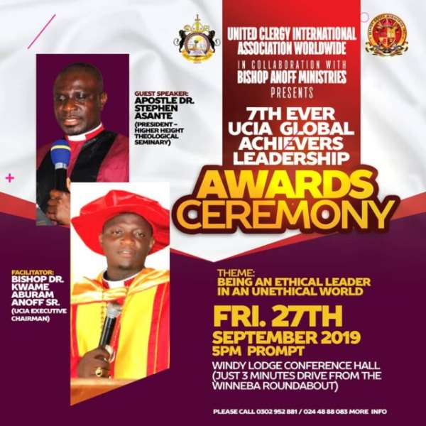 7th UCIA Global Achievers Leadership Awards slated for 27th September