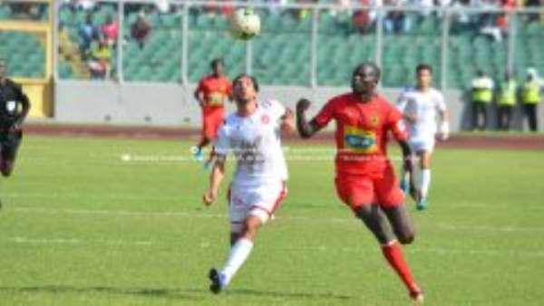 CAF CL: Kotoko 2-0 Etoile Du Sahel – Porcupine Warriors Hold Huge Advantage Ahead Of Second Leg