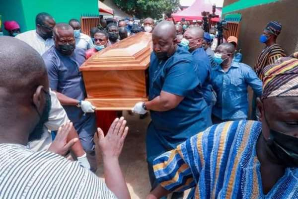 Bawumia's mother laid to rest at Kperiga, would have celebrated 82nd birthday today