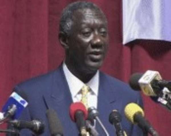 President Kufuor's Interview With Financial Times