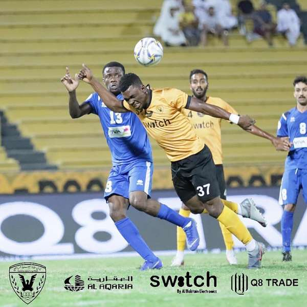 Rashid Sumaila Impress For Al Qadsiya In 3-0 Win Over Al Tadhamon In Kuwaiti League Opener