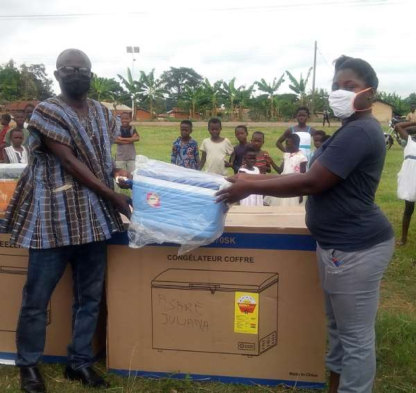 Gov't Supports PWDs In Asutifi South District Assembly