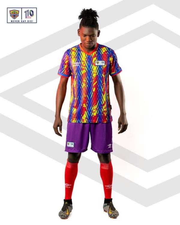 Hearts of Oak unveil 2021/22 jerseys for Ghana football season [Photos]