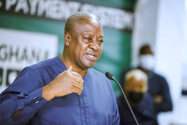 Ex-President John Dramani Mahama