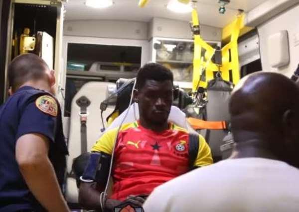 Boxing: Patrick Allotey Visited Hospital After Loss To Munguia