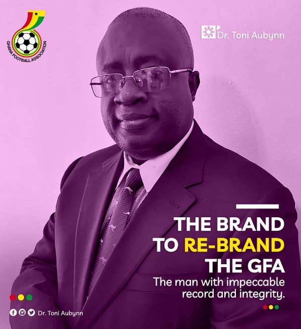 Dr. Tony Aubynn Picks Nominations Forms To Contest Upcoming GFA Presidential Election