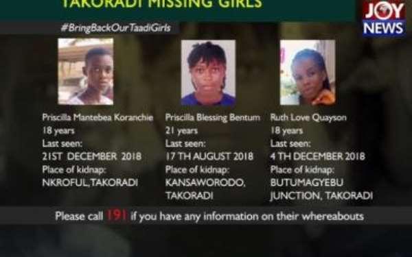 Takoradi Missing Girls: Priscilla Kuranchie Family Accepts DNA Results