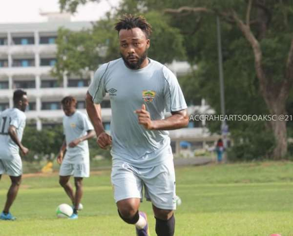 SHOCKING!: Spiritual attack forces new Hearts of Oak signing Gladson Awako to quit after just three weeks