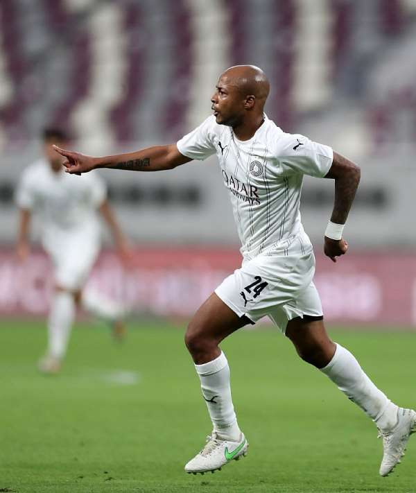Andre Ayew's stunning goal for Al-Sadd nominated for best goal in Qatari Stars League