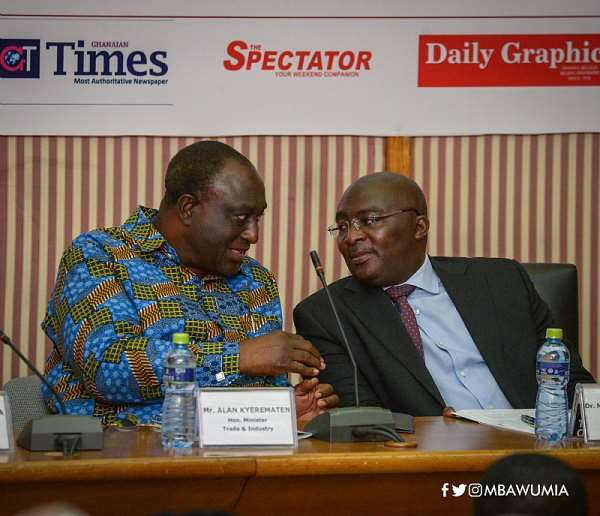 """'Government's Industrialization Drive Is On Track"""" – Bawumia"""