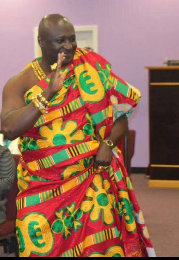 Asokwahene Of New Juaben To Be Honored At  3G Awards In NY