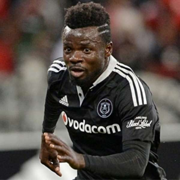 Bernard Morrison credits compatriots Edwin Gyimah for helping to settle well at Orlando Pirates