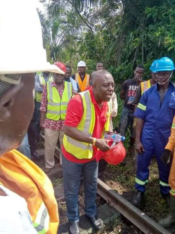 GRCL Completes Successful Passenger Service Test Run From Kojokrom To Tarkwa After 12 Years Of No Service