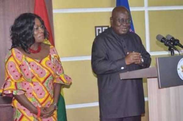 Vote Akufo-Addo, Catherine Afeku For More Development — Senior Minister