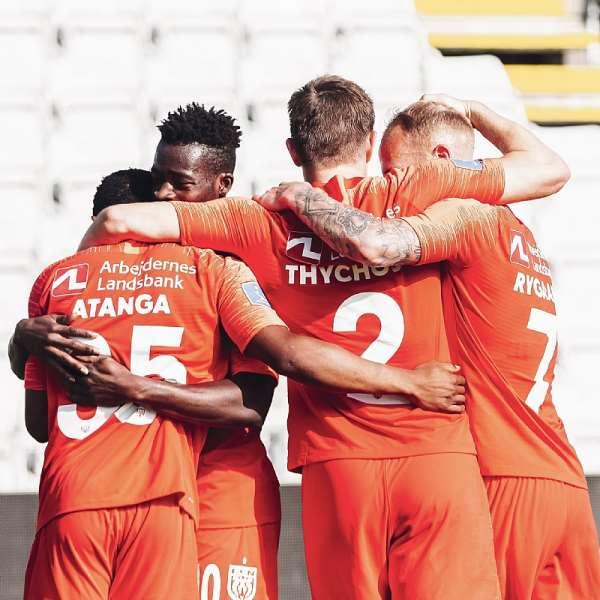 Ghanaian Winger Isaac Atanga Scores For FC Nordsjaelland In Draw Against OB
