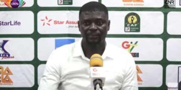 Hearts of Oak head coach Samuel Boadu