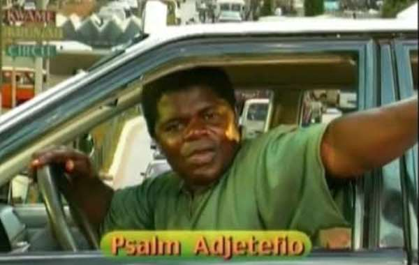 I had no driving experience when I was first casted for 'Taxi Driver' series - Psalm Adjeteyfio reveals