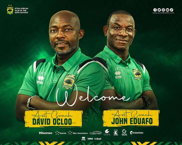 Kotoko appoint two new assistant coaches ahead of 2021/2022 football season