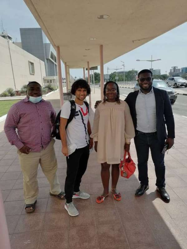 Fabio Gama returns to Ghana to join Kotoko teammates for pre-season