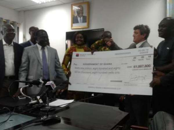 Chirano Mines Pays Dividend To Govt