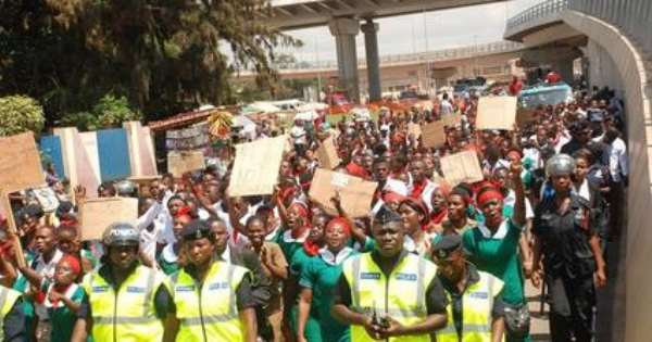 Nurses, Midwives Begin Nationwide Strike Today