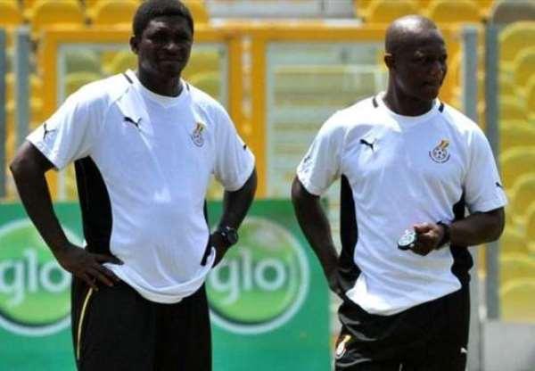 Maxwell Konadu [L] and Kwesi Appiah [R]