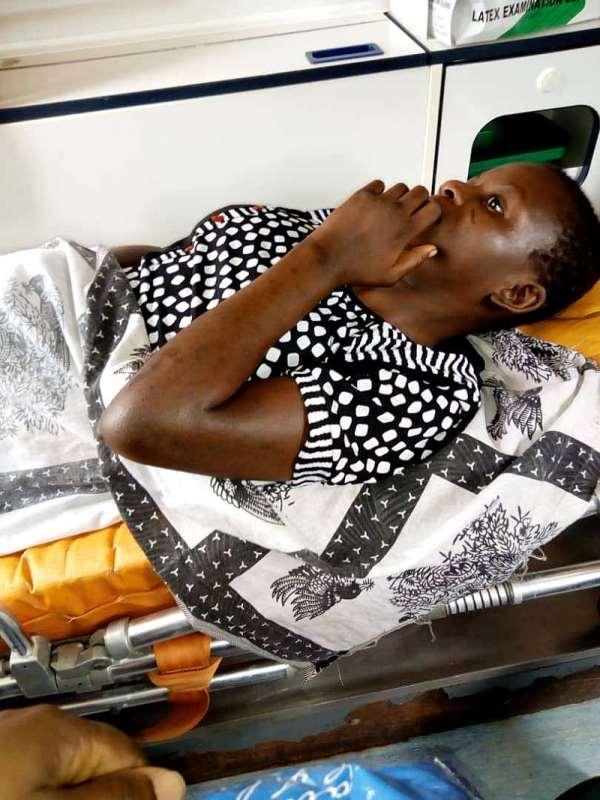 The rape victim: Ama Akoto