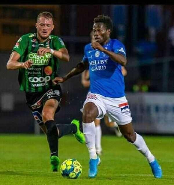 Former Kotoko Forward Abdul Fatawu Safiu Nets First Goal For Trelleborgs FF