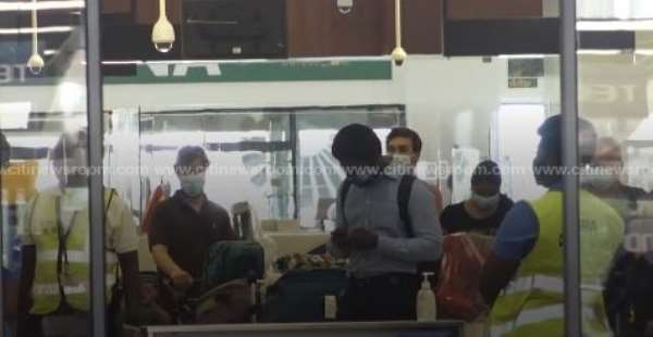 First Batch Of Passengers Arrive After Airport Reopening