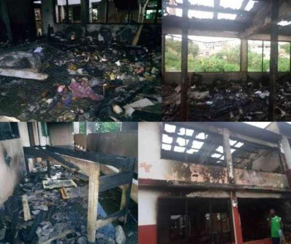 Biriwa NVTI Girls' Hostel Fire Affected 240 Students