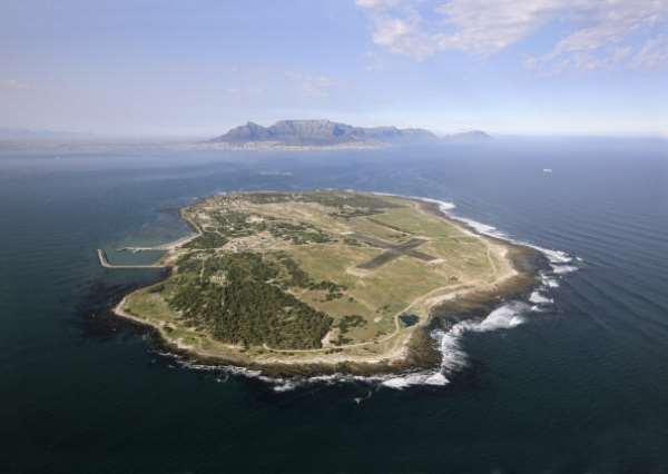 Robben Island -- for centuries a place of banishment, exile, imprisonment and pain. - Source: Hoberman Collection/Universal Images Group via Getty Images