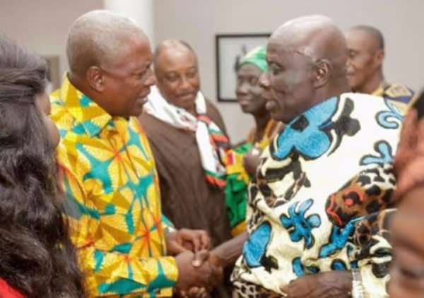 [Full Text] Come And Perform Ritual Pacification Or Risk Being Banned — Okyeman Council To NDC