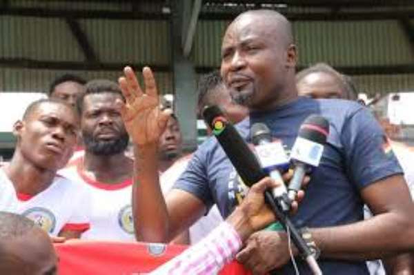Ghana Armwrestling Federation celebrates five years