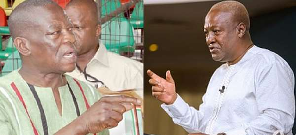 If I'm anti-Mahama and so what? He sponsored Kofi Adams against me - Yaw Boateng Gyan