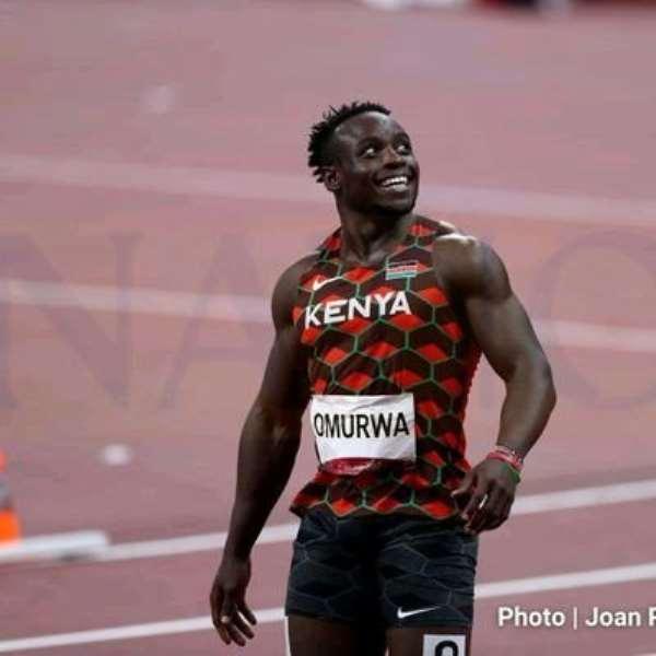 Kenyan breaks African 100 meters record