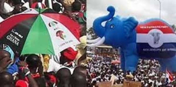 NDC, NPP: Half-truths and Aggressive Propaganda towards 2024 Elections