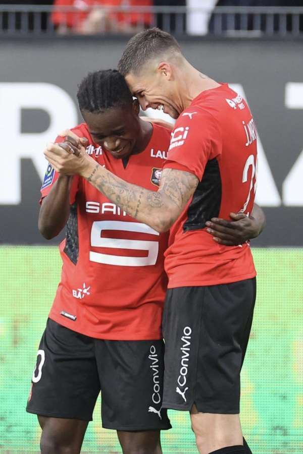 Watch Kamaldeen Sulemana's brace against Clermont Foot [Video]