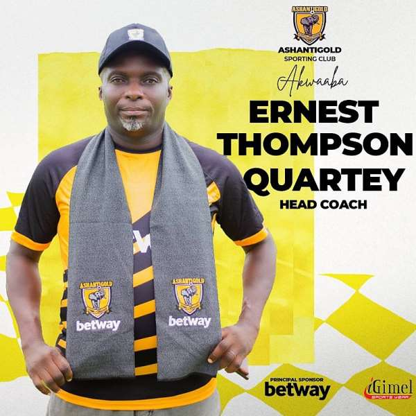 OFFICIAL: Ashgold settle on Ernest Thompson as new head coach