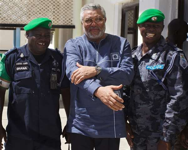 Jerry Rawlings became a stalwart of democracy on the continent later in his life - Source: