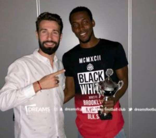 Ghanaian Midfielder Manuel Eli Keke Named Best Player At Icelandic Side Vikingur Olafsvik