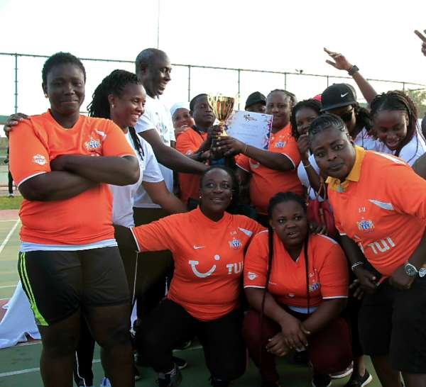 Ghana Post Excell At Citi BusinessOlympics