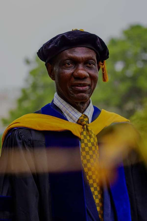 J. P. Adjimani Bows Out Of Active Service After 28 Years At University Of Ghana