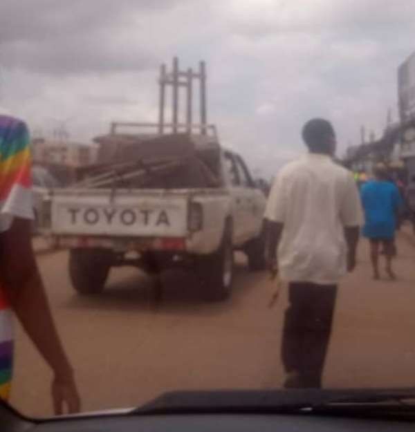 Traders At Okaikwei Demand Head Of MCE Over Destruction Of Goods, Military Assault