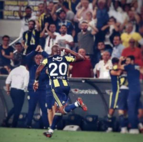 Andre Ayew Excited To Snatch A Point For Fenerbahçe In Istanbul Derby