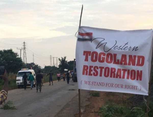 Western Togoland Group Beat Police Officers, Seize Guns And Stripped Them Naked