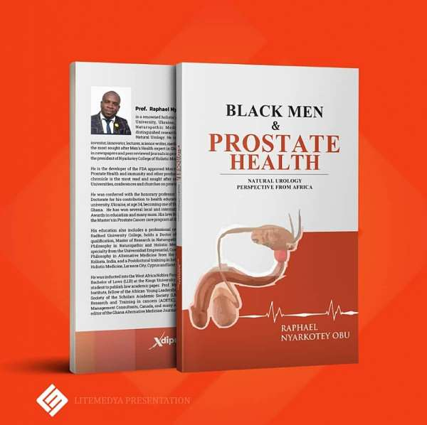 Book Review By Ben Ephson On Obu's 'Black Men & Prostate Health', Good Education